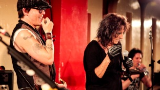 Anti-Actor-Musician Johnny Depp Joined A Band With Alice Cooper And Joe Perry