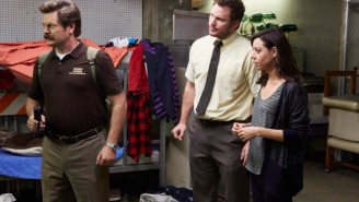 What's On Tonight: Ron Swanson Solves A Puzzle On 'Parks And Rec' And Raylan Goes To War On 'Justified'