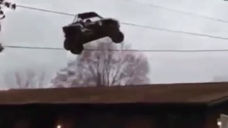 This Dune Buggy Went 'Dukes Of Hazzard' Over A House And It's Six Seconds Of Pure Bliss