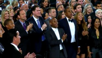 Jay Z's Face When Kanye West Walked Onstage Was Simply Priceless