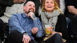 Benji Madden Already Got Cameron Diaz's Name Tattooed On Himself