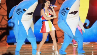 There Is Now An Official Katy Perry Super Bowl Halftime Show Left Shark Costume For Sale