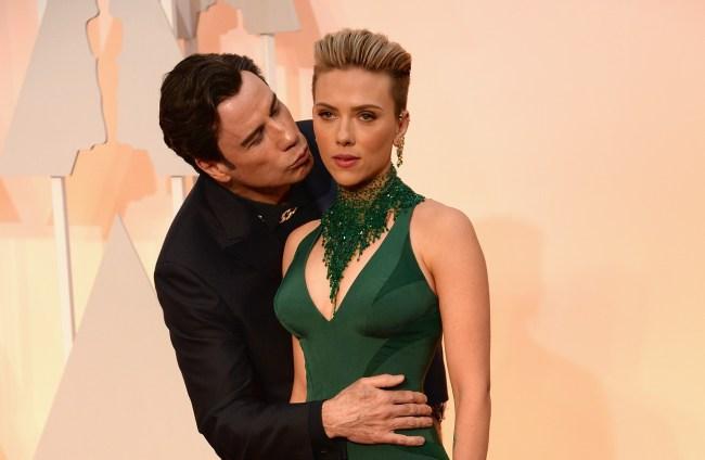 Scarlett Johansson Says John Travolta Isn T Creepy