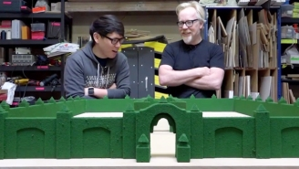 Adam Savage From 'Mythbusters' Built A Replica Of The Maze From 'The Shining'