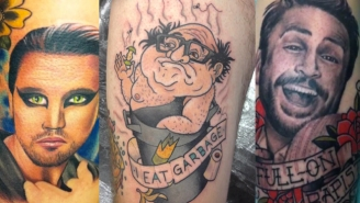 The Gang From 'It's Always Sunny' Takes A Look At Some Of The Most Regrettable Tattoos Based On The Show