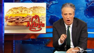 Jon Stewart Responded To Arby's Job Offer To Open His First 'Daily Show' After Announcing His Retirement