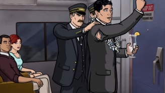 A History Of Sterling Archer's Mishaps With Totally Awesome Modes Of Transportation