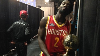 Patrick Beverley Appears To Steal Taco Bell Skills Challenge