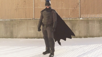 This Kid Made A Fully Combat Ready Batsuit That's Totally As Awesome As It Sounds