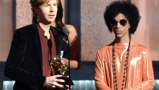 Beck Is Still Totally Not Upset With Kanye West After The Grammys