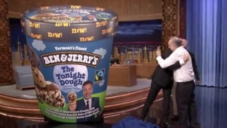 Jimmy Fallon Has Now Inspired A Second Ben And Jerry's Ice Cream Flavor