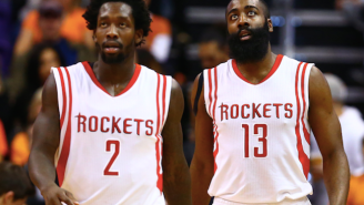 Patrick Beverley's Passing Struggles In Skills Challenge Didn't Surprise James Harden Because 'I'm The Point Guard'