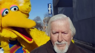 Big Bird Haunts His Original Puppeteer Caroll Spinney In The Best 'Birdman' Spoof Ever