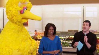 Billy Eichner jams with Michelle Obama and Big Bird in unforgettable clip