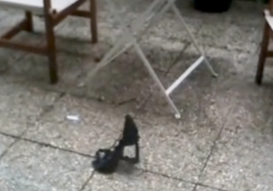 Watch This Woman Impressively Rescue Her Bra Out Of Her Neighbor's Backyard