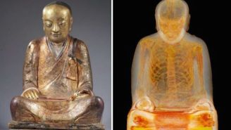 A Centuries-Old Mummy Was Just Discovered Inside This Buddha Statue