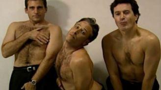 Steve Carell, Jon Stewart, And Stephen Colbert's Sexy #TBT Might Just Break The Internet