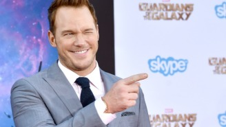 Watch Chris Pratt Make The Best Of A Ridiculous Fake Interview