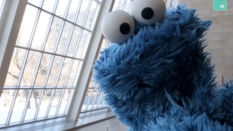 'Lasagna Is Just Spaghetti-Flavored Cake' And Other Epiphanies From Cookie Monster