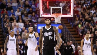 "Fed Up DeMarcus Cousins Implores Kings To ""Have Some Self-Respect"" (Video)"