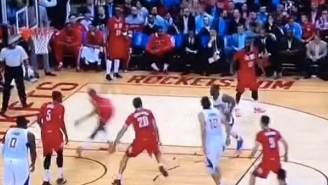 Chris Paul's Absolutely Filthy Step-Back Sends Corey Brewer Flailing To The Baseline