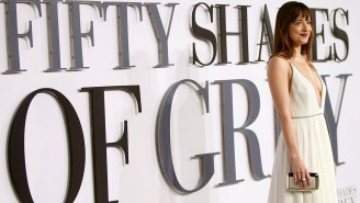 Box Office: 'Fifty Shades of Grey' isn't fading fast enough to relinquish no. 1