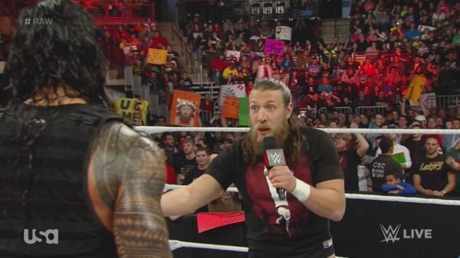 Daniel Bryan Roman Reigns Raw opening