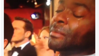 David Oyelowo sheds some tears, gets consoled by Oprah