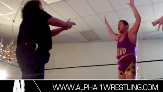Tragedy Strikes Pro Wrestling As Supercop Dick Justice Gets Shot By A Referee With An Invisible Gun