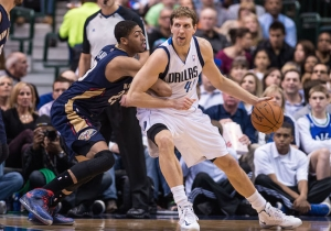 Dirk Nowitzki Replaces Injured Anthony Davis On Western Conference All-Star Team