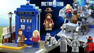 A Lego 'Doctor Who' Set Is Coming To A Store Shelf And Living Room Floor Near You