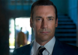Let's get sad! Final season photos from 'Mad Men'