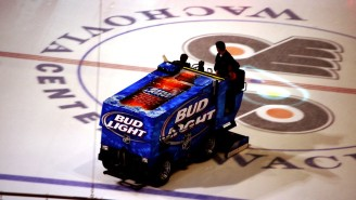 A Fargo Man Was Arrested For Allegedly Drunk Driving A Zamboni