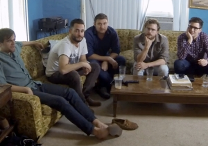 Watch This Bunch Of Dudes Watch 'The Notebook' For The First Time (And Like It?)