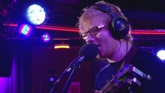 Ed Sheeran's Cover Of Christina Aguilera's 'Dirrty' Is A Toe-Tapping Jam