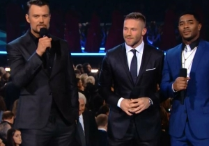 Julian Edelman And Malcolm Butler Made A Grammys Telecast Appearance, Because Why Not?