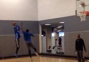 Video: Joel Embiid Defends Nerlens Noel During Sixers Practice