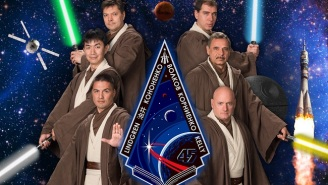 This Space Station Crew Has Photoshop, Is Not Afraid To Use It