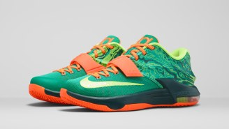 """Nike Unveils Kevin Durant's Latest Signature Colorway: The KD 7 """"Weatherman"""""""