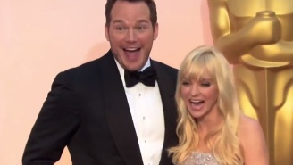 Jimmy Fallon Puts Words In Celebrities' Mouths At The Oscars In 'Celebrity Whispers' Segment
