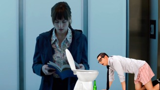 A Pooping, Vomiting Drunk Lady Evacuated A Sold-Out Screening Of 'Fifty Shades Of Grey' In England
