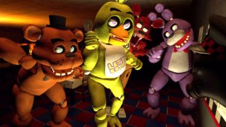 Watch The Pyro From 'Team Fortress 2' Thoroughly Enjoy 'Five Nights At Freddy's'