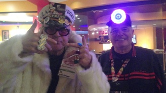 An Interview With A Man In A Floor-Length Fur Coat Standing Outside A Porn Convention