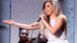 Lady Gaga Blew Everyone Away With Her 'Sound Of Music' Tribute At The Oscars