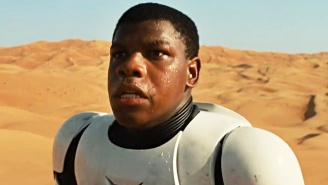 The 'Star Wars: Force Awakens' Script Made John Boyega Cry