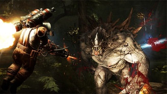 Watch Giant Pokemon Rejects Wreck Shop In The 'Evolve' Honest Game Trailer