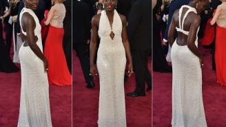 Lupita Nyong'o's Stolen Pearl Dress Was Allegedly Returned Because It's 'Fake Bullsh*t'
