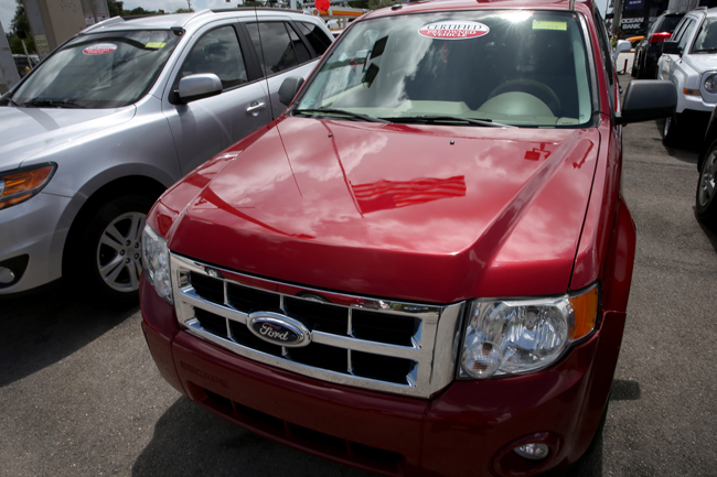 Ford Recalls Over 1 Million SUV's