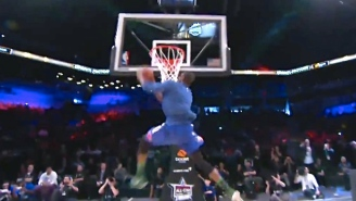 Thanasis Antetokounmpo Mimics Victor Oladipo In D-League Dunk Contest With Nearly 540-Degree Jam