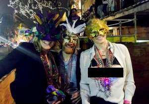 Chelsea Handler Earned Plenty Of Beads At Mardi Gras (If You Know What We Mean)